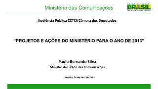 Brasília,  24 de abril de 2013
