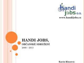 HAND I JOBS,  občanské sdružení