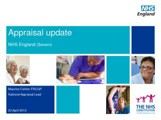 Appraisal update NHS  England  (Severn)