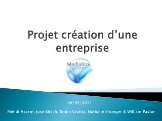 Projet  c r�ation d�une entreprise