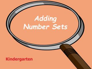 Adding  Number Sets