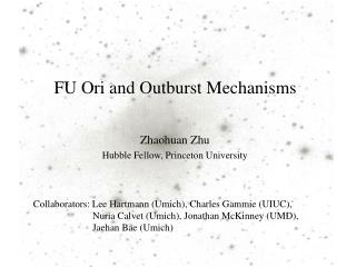 FU  Ori  and Outburst Mechanisms