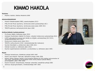 KIMMO HAKOLA