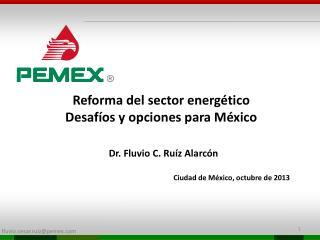 Reforma del sector  energético Desafíos  y opciones para México