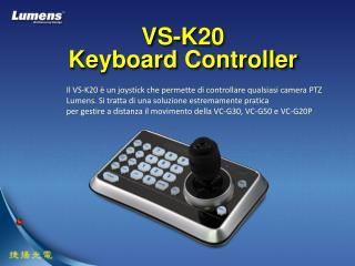 VS-K20 Keyboard Controller