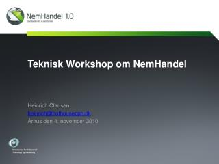Teknisk Workshop om NemHandel