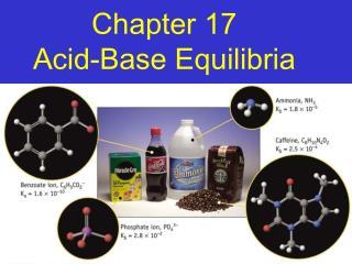 Chapter 17 Acid-Base Equilibria