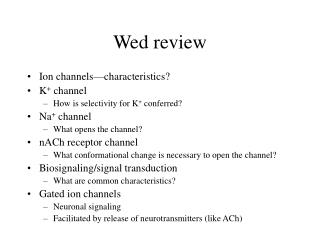 Wed review