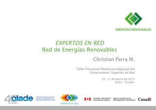 EXPERTOS EN RED  Red de Energ�as Renovables