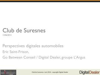 Club de Suresnes  12/06/2014