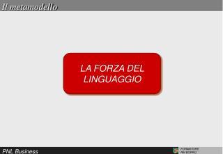 LA FORZA DEL LINGUAGGIO