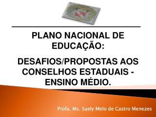 Profa. Ms. Suely Melo de Castro Menezes