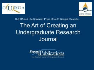 CURCA and The University Press of North Georgia Presents: