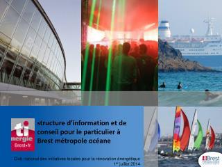 structure d'information et de conseil pour le particulier à  Brest métropole océane