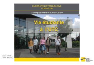 Vie  étudiante  à   l'UTC