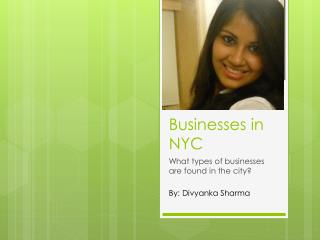 Businesses in NYC