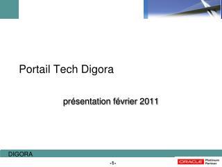 Portail Tech Digora