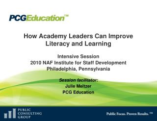 How Academy Leaders Can Improve Literacy and Learning