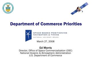 Department of Commerce Priorities