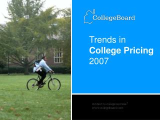 Trends in College Pricing 2007