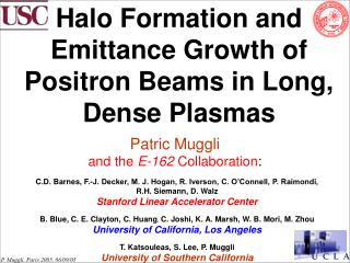 Halo Formation and Emittance Growth of Positron Beams in Long, Dense Plasmas