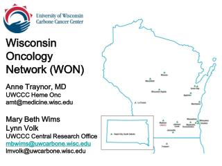 Wisconsin  Oncology  Network (WON)