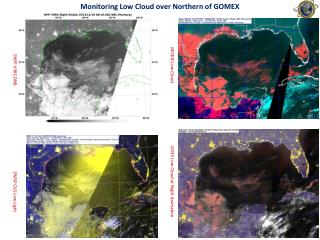 Monitoring Low Cloud over Northern of GOMEX