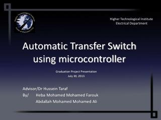 Automatic Transfer Switch using microcontroller