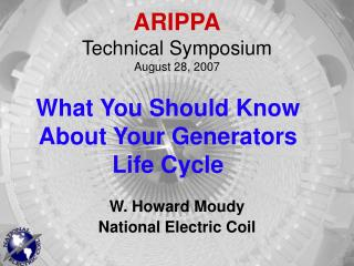 ARIPPA Technical Symposium August 28, 2007