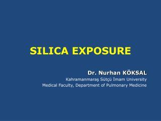 SILICA EXPOSURE