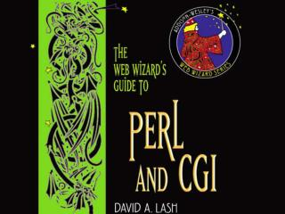 Web Wizard�s Guide to CGI/Perl