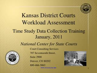 Kansas District Courts Workload Assessment