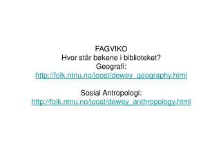 Bokanmeldelser antropologi: