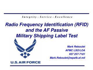 Mark Reboulet AFMC LSO