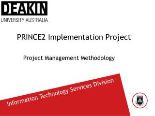 PRINCE2 Implementation Project