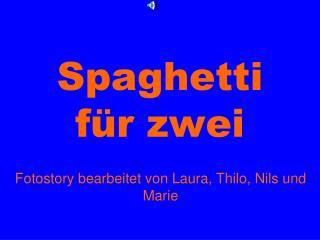 Spaghetti für zwei