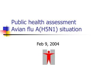 Public health assessment Avian flu A(H5N1) situation
