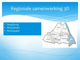 Regionale samenwerking 3D