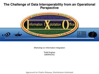 The Challenge of Data Interoperability from an Operational Perspective