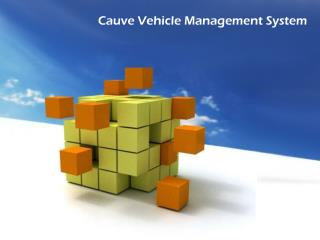 Cauve Vehicle Management System