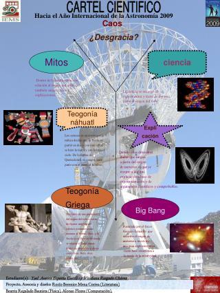 Hacia el Año Internacional de la Astronomía 2009