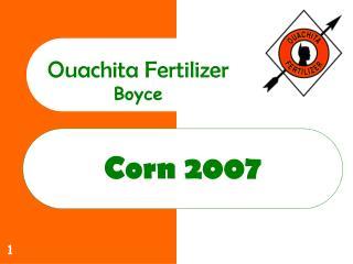 Corn 2007
