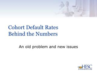 Cohort Default Rates Behind the Numbers