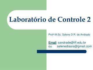 Laborat�rio de Controle 2