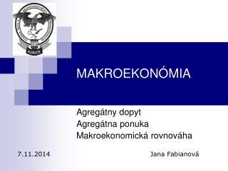 MAKROEKON ÓMIA