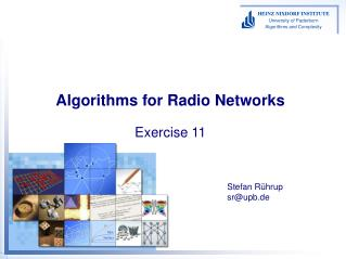 Algorithms for Radio Networks Exercise 11