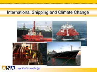 International Shipping and Climate Change