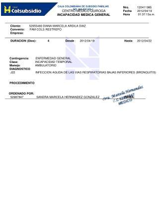 Nro.           120411985 Fecha        2012/04/19 Hora           01:37:13a.m .