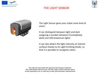 THE LIGHT SENSOR