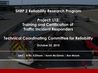 SAIC| ATRI| K2Share | Kevin McGinnis | Ron Moore